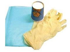 安全な使い捨て用品の使用